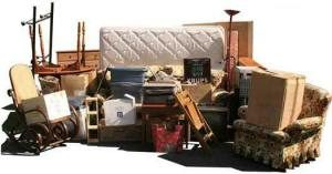 Photo of household rubbish removal service