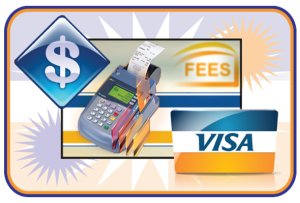 Photo of merchant fee and EFTPOS payment available